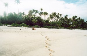 Footsteps | Mauke Island Pacific