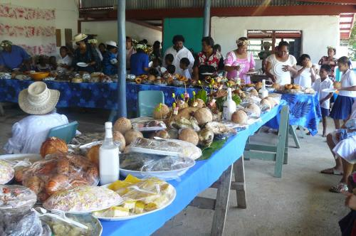 The kai kai or feast prepared by the church families to celebrate the rededication of the Divided Church.